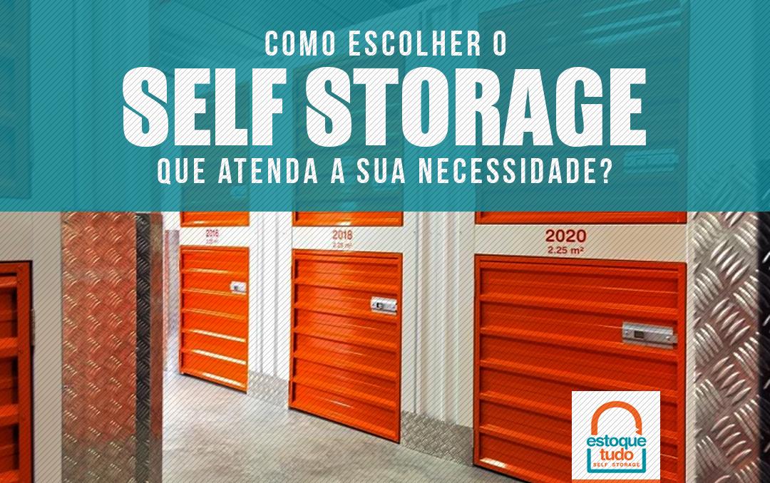 escolher um Self Storage
