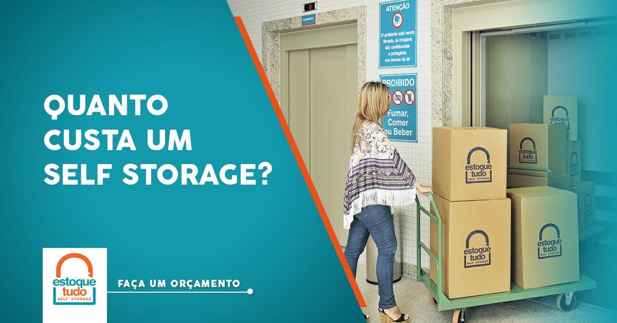 Preço de um Self Storage